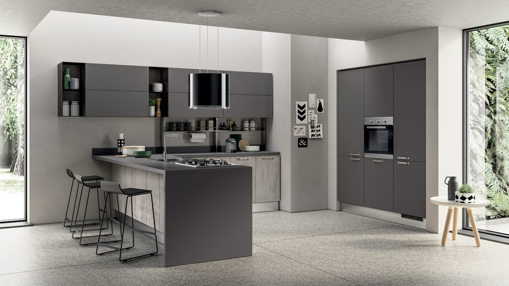 Cucine moderne scavolini torino arredamenti quaglio - Scavolini cucine classiche ...