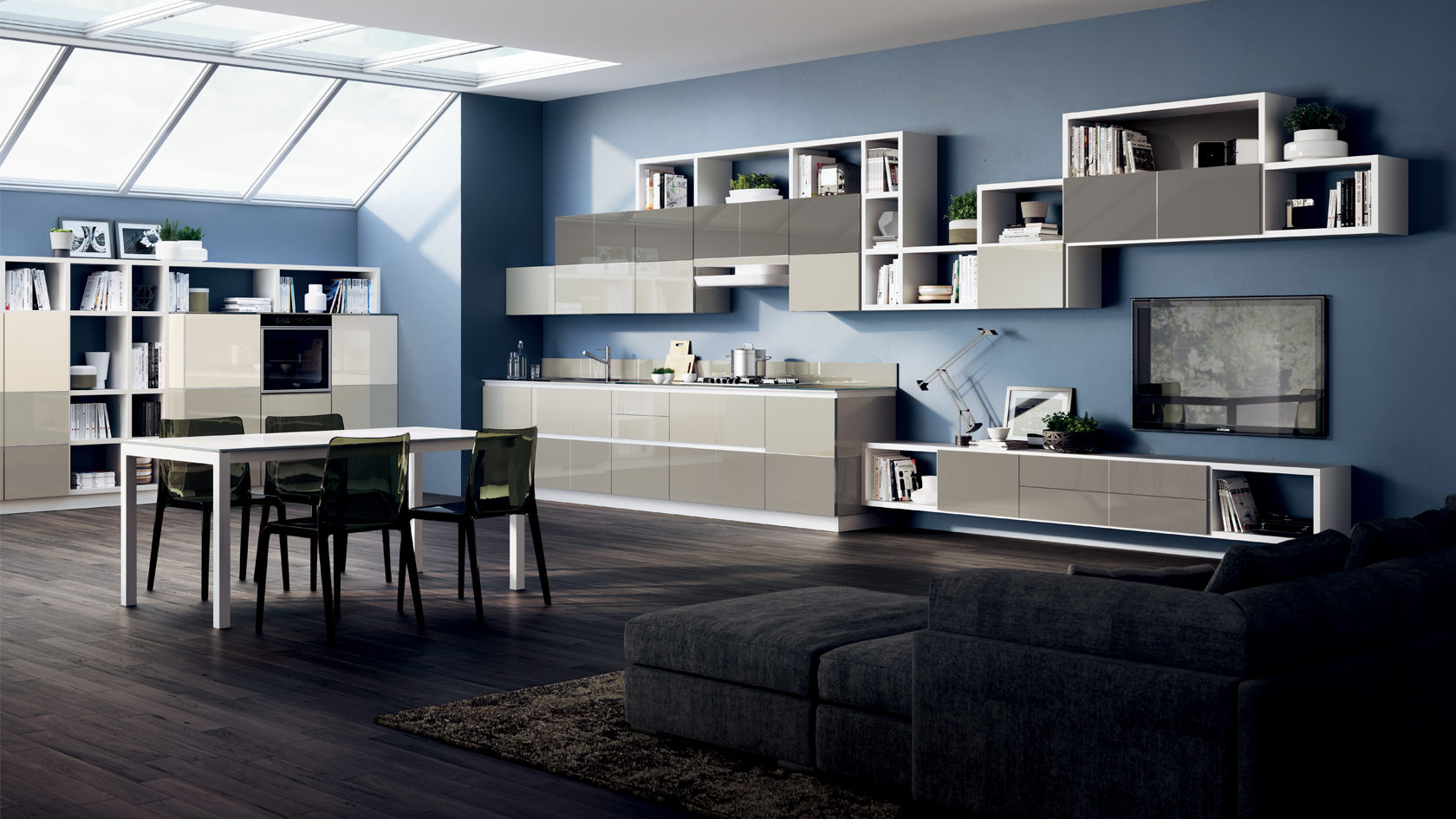 Credenza Moderna Scavolini : Cucine moderne scavolini torino arredamenti quaglio